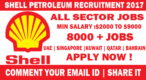 Shell Petroleum Recruitment 2017 ! – Best Ever Jobs