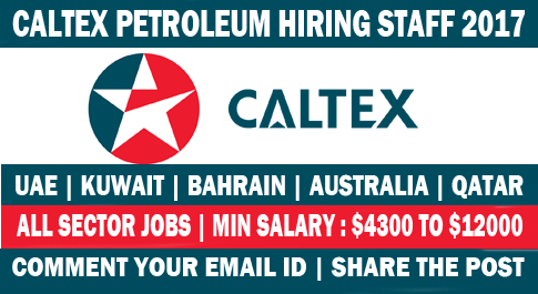 jobs opportunities in Caltex – Best Ever Jobs
