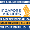 singapore airline JOBS