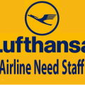 Lufthansa Airline need staff