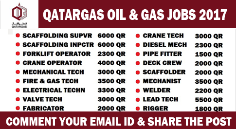 qatar gas jobs