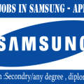 jobs in samsung