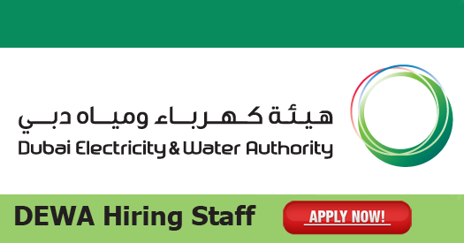 Dubai Electricity and Water Authority Jobs