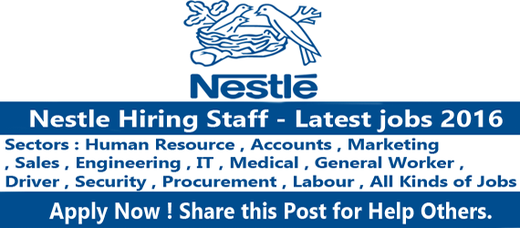 Jobs in Nestle