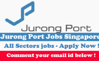 jobs in jurong port singapore