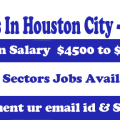 jobs in houston city