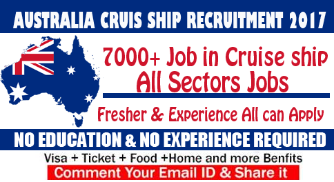 australia cruise ship recruitment
