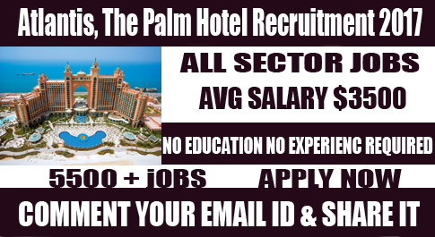 Atlantis, The Palm Hotel JOBS