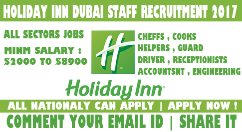 HOLIDAY INN HOTEL JOBS